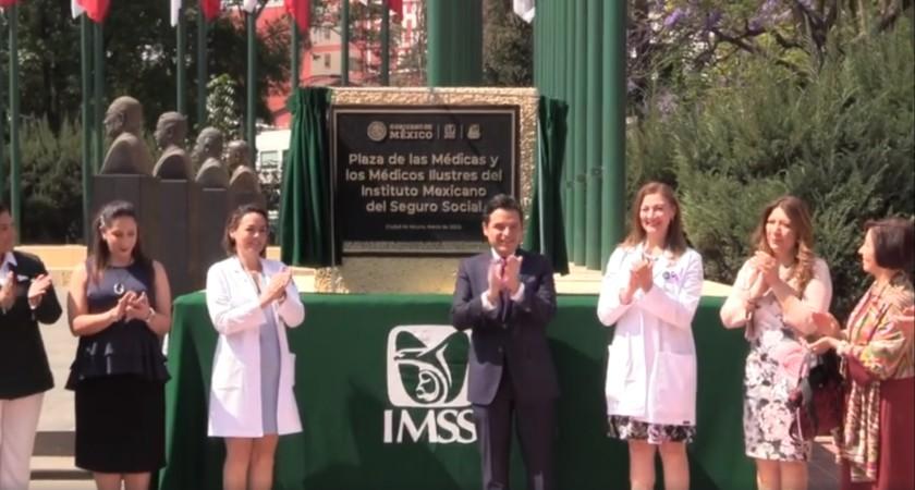 Plaza de Médicas y Médicos Ilustres