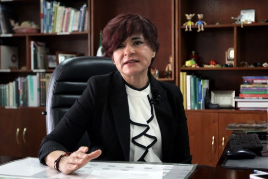 doctora Olga Georgina Martínez Montañez, coordinadora de Bienestar Social del Instituto Mexicano del Seguro Social (IMSS)