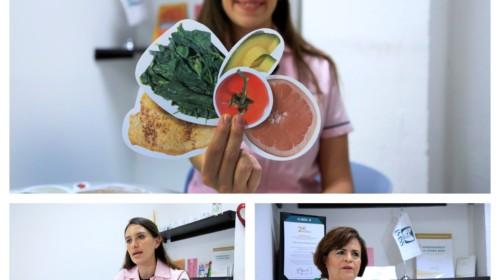 collage de fotografias de las nutrición