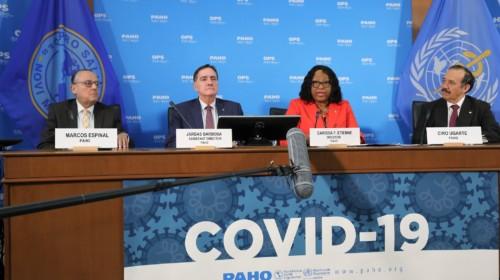 Conferencia de prensa COVID-19 con Carissa F. Etienne, Directora de la OPS