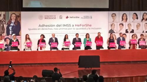 Adhesión de IMSS a HeForShe