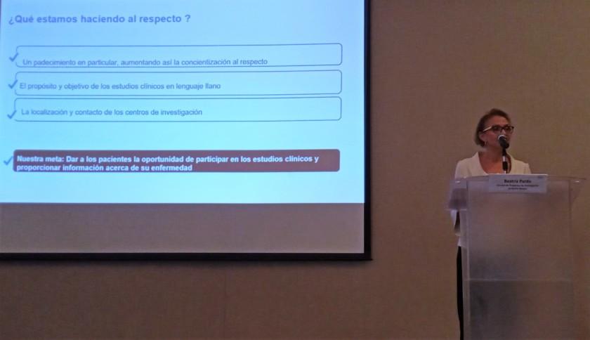 """Presentación de la plataforma de pacientes """"Una opción para ti"""""""