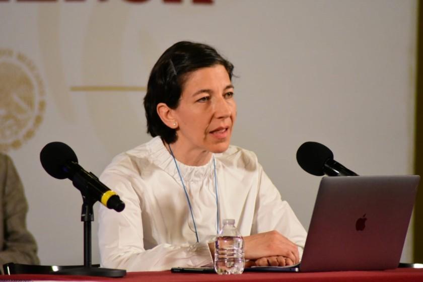 Karla Berdichevsky Feldman, directora general del Centro Nacional de Equidad de Género y Salud Reproductiva