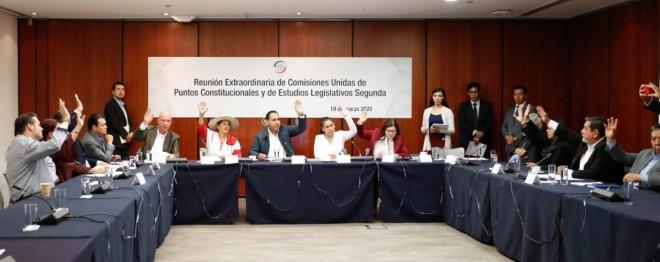 Comisiones unidas de Puntos Constitucionales y de Estudios Legislativos, Segunda