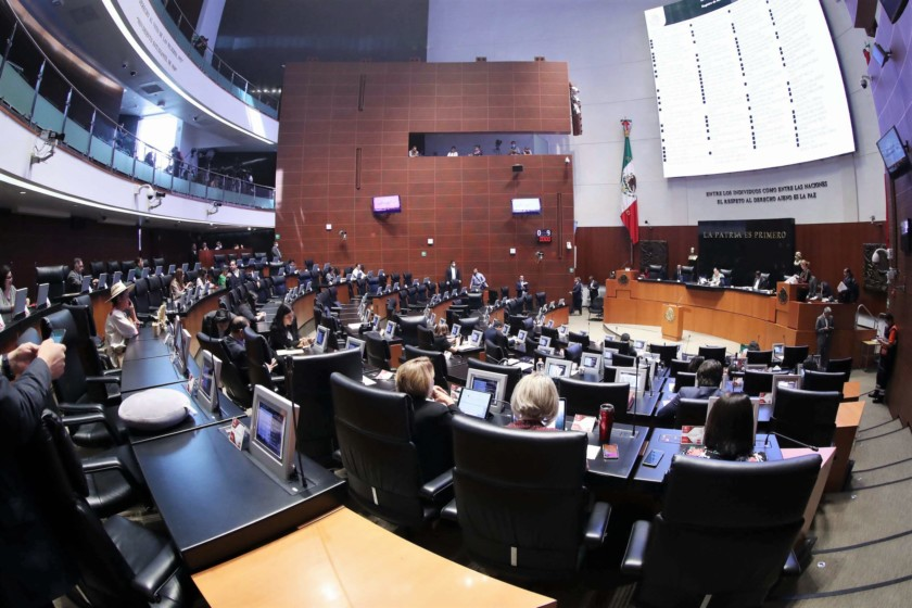 Sesión Ordinaria del 24 de marzo de 2020, en el Senado de la República