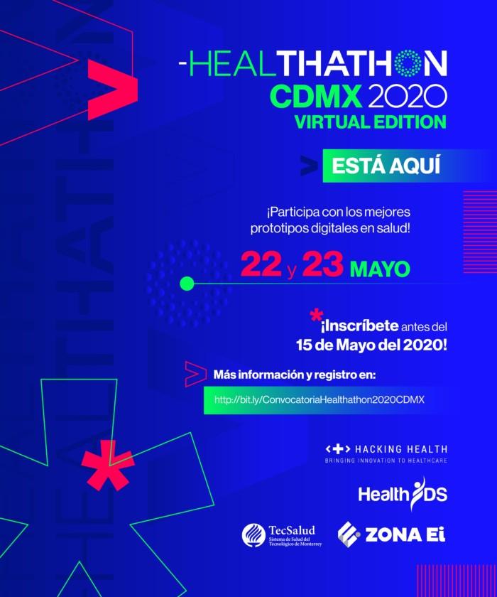 Tec de Monterrey lanza convocatoria para Healthathon virtual 2020