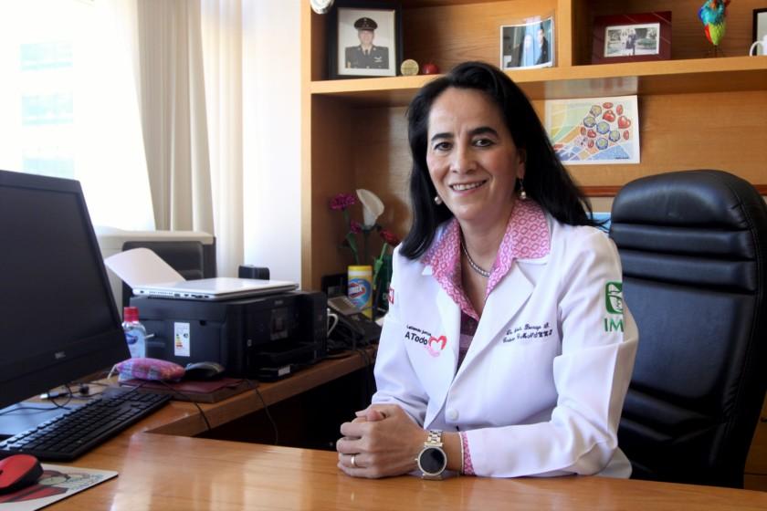 médica, Gabriela Borrayo Sánchez
