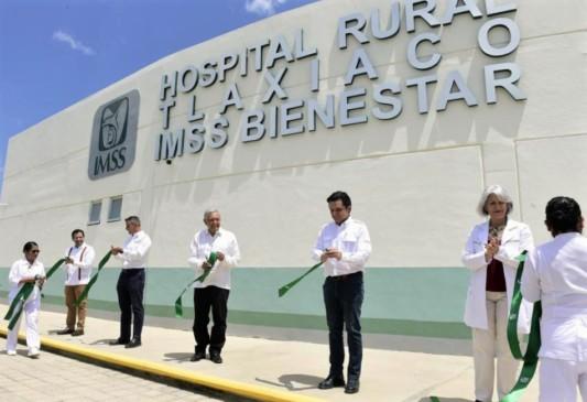 Tlaxiaco cuenta con nuevo Hospital Rural de IMSS-Bienestar