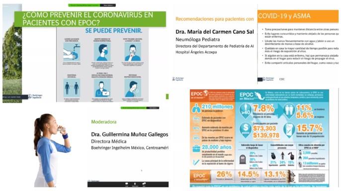 Collage de imagenes de medidas de prevención