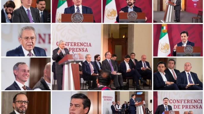 Conferencia de prensa del presidente Andrés Manuel López Obrador, del 28 de abril de 2020