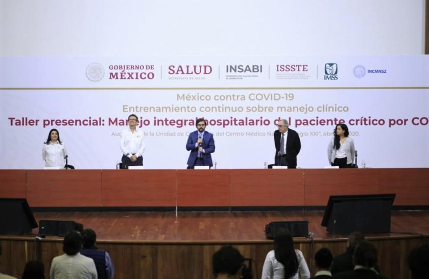 Suman esfuerzos IMSS e INSABI para el Manejo Integral Hospitalario del Paciente Crítico por COVID-19