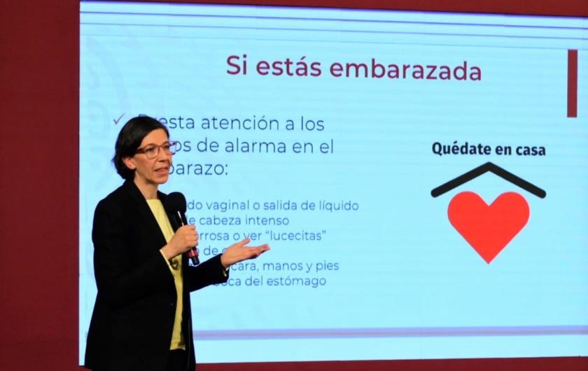 KARLA BERDICHEVSKY FELDMAN, DIRECTORA GENERAL CENTRO NACIONAL DE EQUIDAD DE GÉNERO Y SALUD REPRODUCTIVA