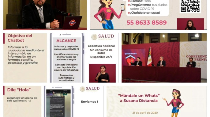Mándale un Whats a Susana Distancia