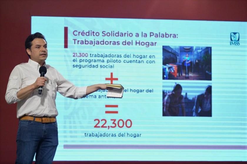 director general del Instituto Mexicano del Seguro Social (IMSS), Zoé Robledo