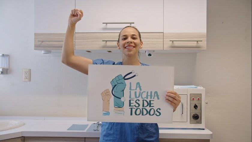 campaña #LaLuchaEsDeTodos,