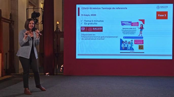 doctora Lorena Rodríguez Bores Ramírez, secretaria técnica del Consejo Nacional de Salud Mental