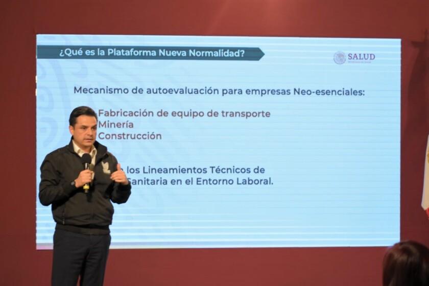 Zoé Robledo, director general del Instituto Mexicano del Seguro Social (IMSS)