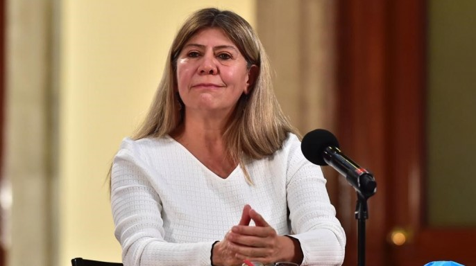 Mtra. Rocío Mejía, coordinadora del Programa Tandas para el Bienestar