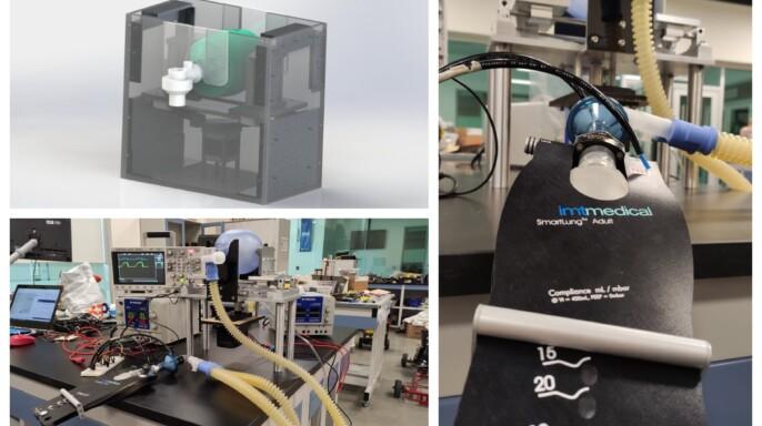 Creación de un respirador o ventilador mecánico de emergencia