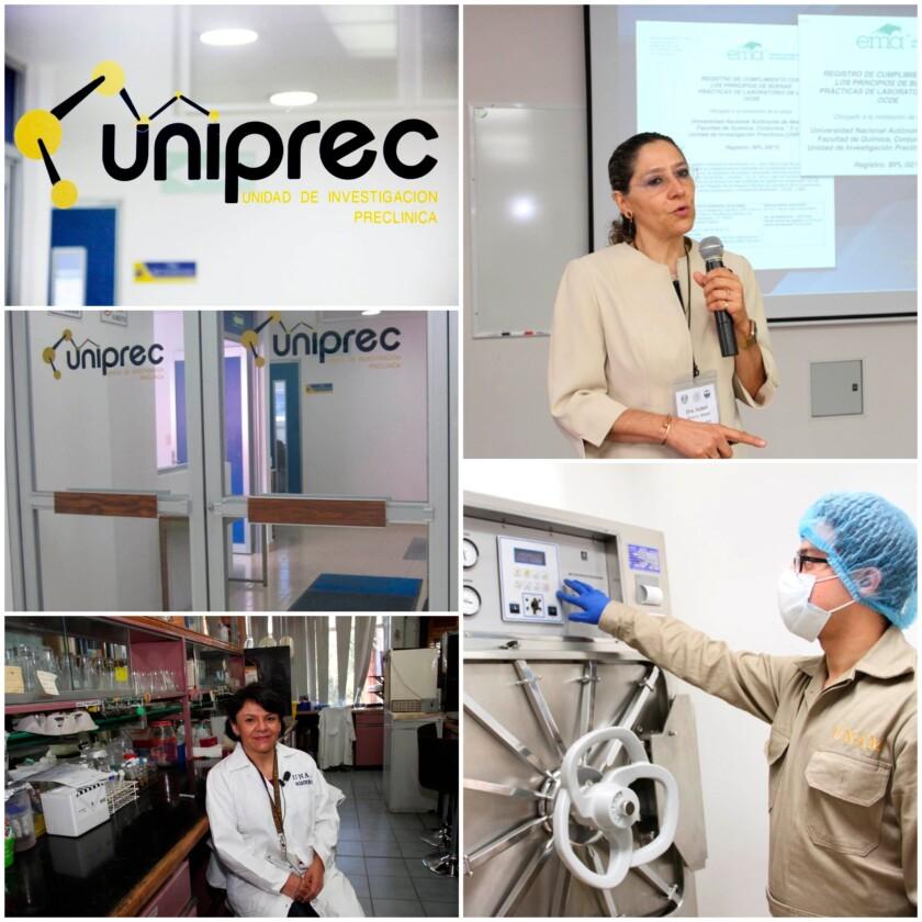 Mosaico de imágenes de UNIPREC