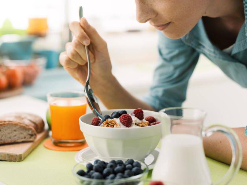 desayuno en la mesa