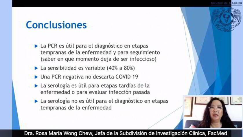 """Conclusiones conversatorio virtual """"Pruebas diagnósticas para COVID-19 y aspectos regulatorios"""","""