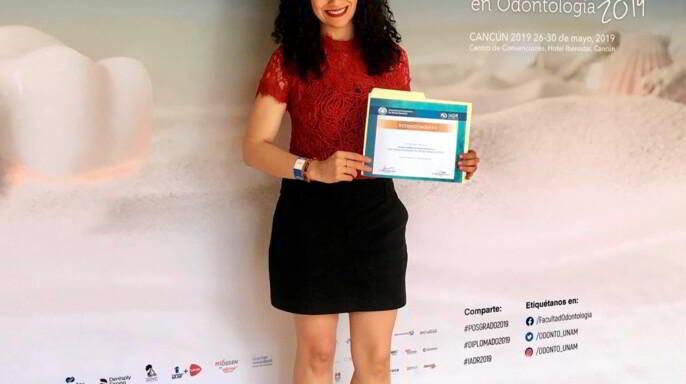 Liliana Amparo Camacho Aparicio sostiene documento