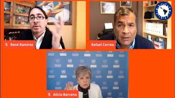 """seminario web internacional """"Pos COVID, pos Neoliberalismo. La pandemia y el futuro de América Latina"""""""