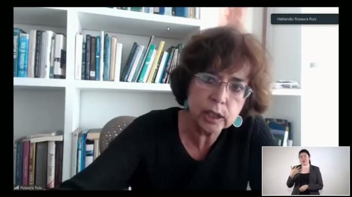 secretaria de Educación, Ciencia, Tecnología e Innovación de la Ciudad de México (SECTEI), Rosaura Ruiz Gutiérrez