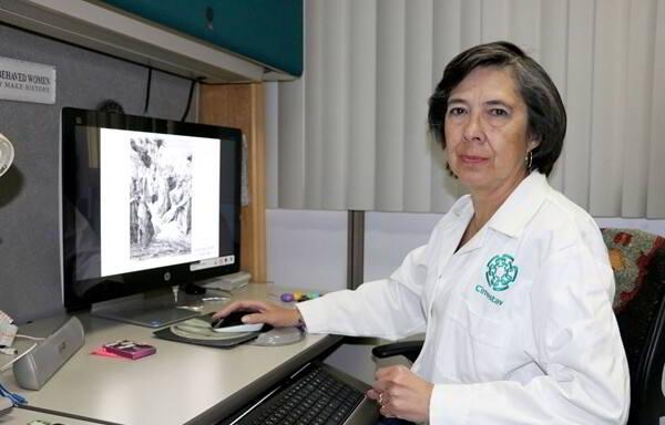 Luisa Rocha Arrieta, investigadora del Departamento de Farmacobiología del Cinvestav