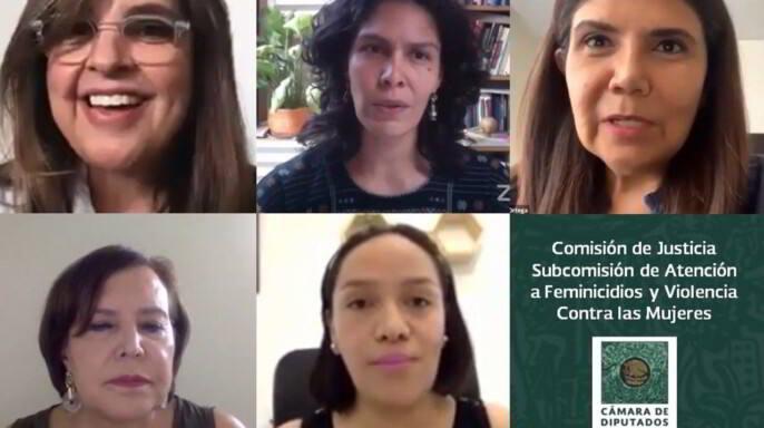 """conversatorio """"Asignaturas Pendientes en Materia de Justicia para las Mujeres de Cara al Informe de México ante CEDAW 2020"""""""