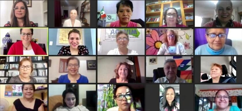 Videoconferencia con Grupo de Trabajo Plural por la Igualdad Sustantiva dialogó con integrantes de la Red Nacional de Alertistas