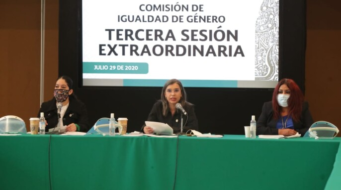 Aprueba Comisión cuatro dictámenes que reforman 86 leyes en materia de paridad de género