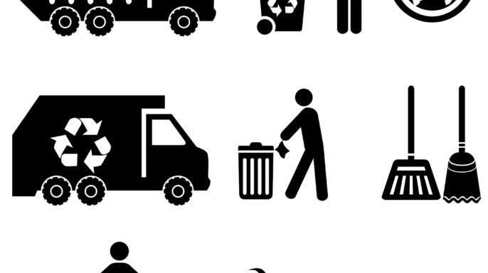 Iconos de basura