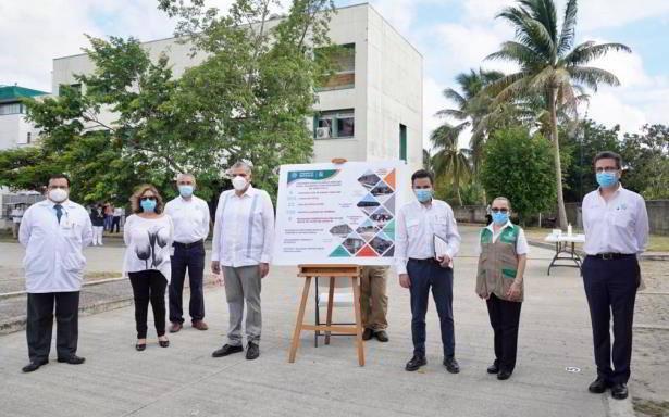 IMSS y Gobierno de Tabasco supervisan arranque de obras para Módulo Hospitalario Temporal en Villahermosa