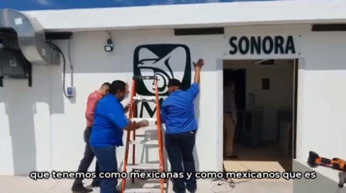 Módulo Hospitalario Temporal para pacientes COVID-19 en Ciudad Obregón, Sonora