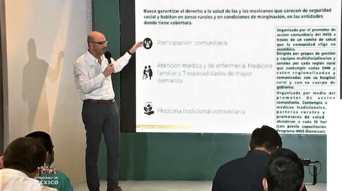David Razú Aznar presenta Modelo de Atención Integral a la Salud (MAIS) del programa IMSS-BIENESTAR