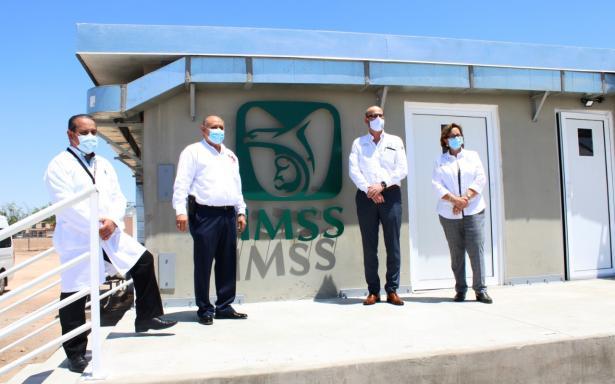 Inicia operaciones Módulo Hospitalario Temporal en el HGZ No. 30 de Mexicali para convalecientes por COVID-19