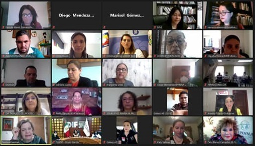 Videoconferencia de presentación del proyecto de Protocolo Nacional de Atención Integral a NNyA en Condición de Orfandad por Feminicidio