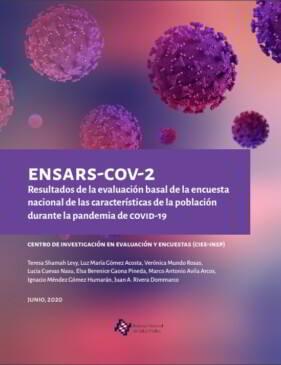 Portada ENSARS-COV-2 Resultados de la evaluación basal de la encuesta nacional de las características de la población durante la pandemia de COVID-19.