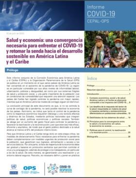 Salud y economía: una convergencia necesaria para enfrentar la enfermedad por coronavirus (COVID-19) y retomar la senda hacia el desarrollo sostenible