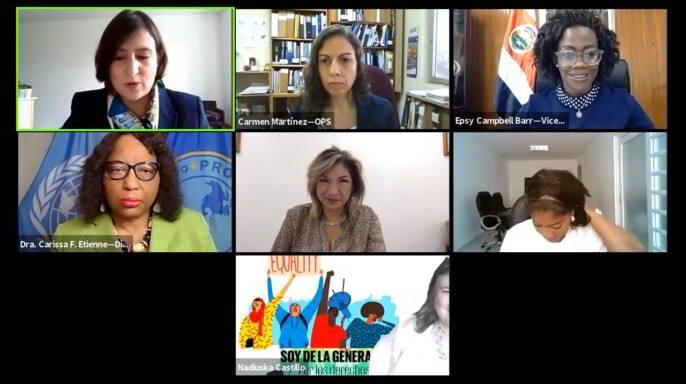 Salud mental y COVID-19: una prioridad para los derechos humanos de las mujeres