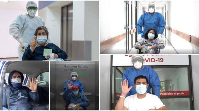 Nueve hombres y tres mujeres respondieron favorablemente al tratamiento y cuidados del equipo multidisciplinario de especialistas.