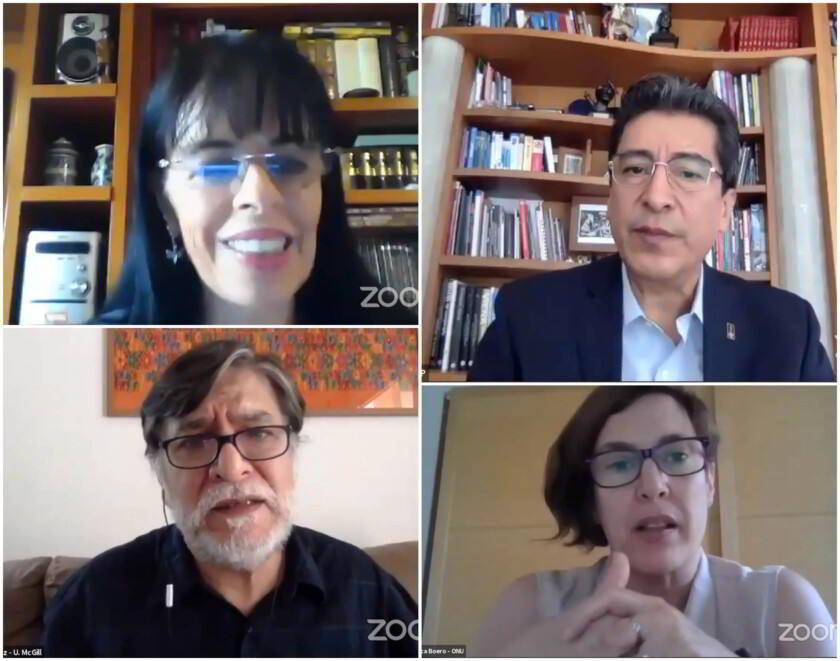 """seminario virtual """"Seguridad alimentaria y COVID-19"""""""