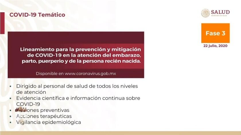 Lineamiento para la prevención y mitigación de COVID-19