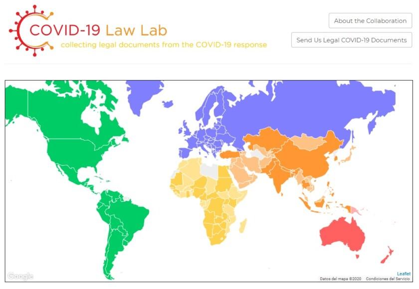 Laboratorio de leyes COVID-19