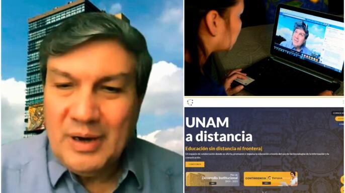 Melchor Sánchez Mendiola, coordinador de Universidad Abierta, Innovación Educativa y Educación a Distancia.