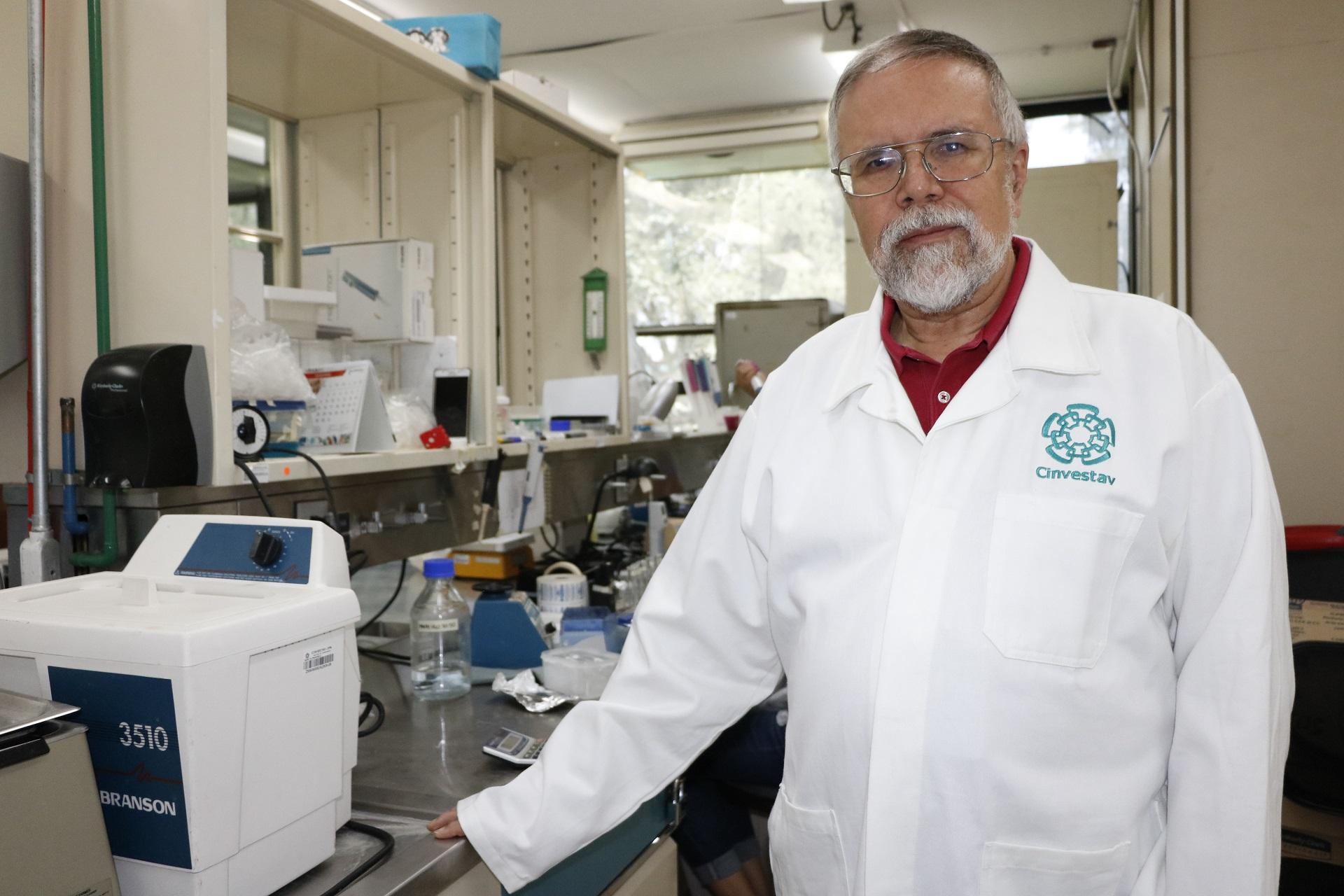 Gilberto Castañeda Hernández, investigador del Departamento de Farmacología del Cinvestav