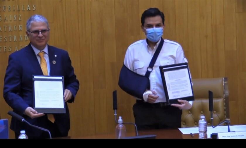 IMSS firma acuerdo para participar en el Fondo Rotario Regional para Suministros Estratégicos de Salud Pública de la OPS
