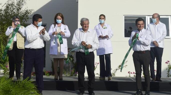 Inauguración de la Unidad de Medicina Familiar (UMF) No. 7, en Reynosa, Tamaulipas